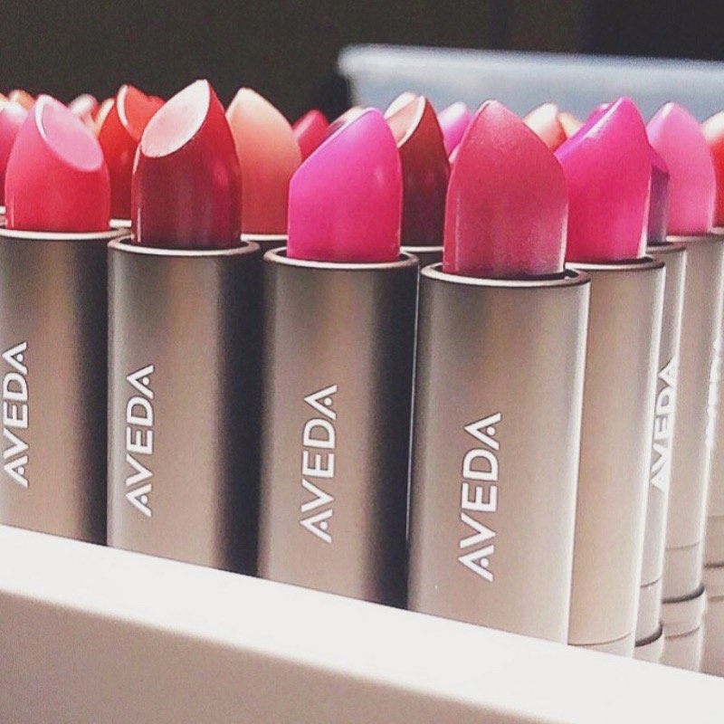 Vegan lipsticks from Aveda